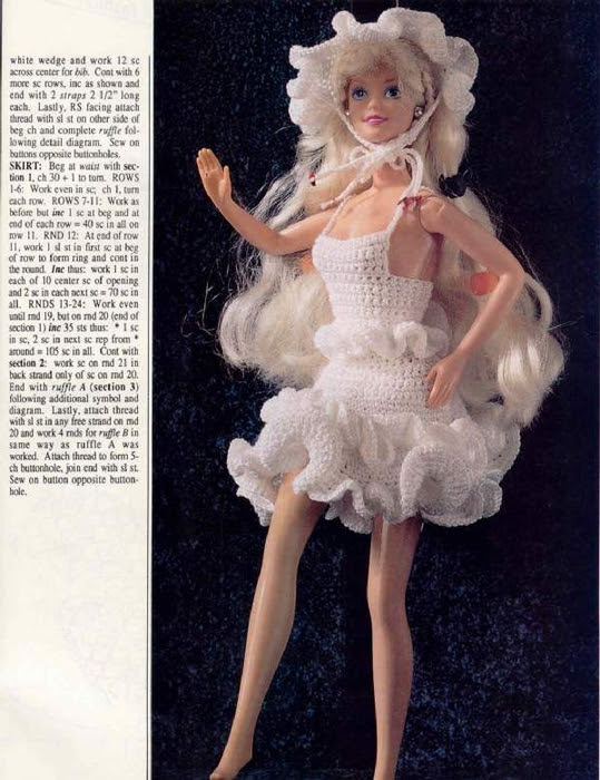 Creations-Fashion doll costumes 011 (539x700, 356Kb)