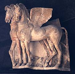 Etruscan Horse teracotta