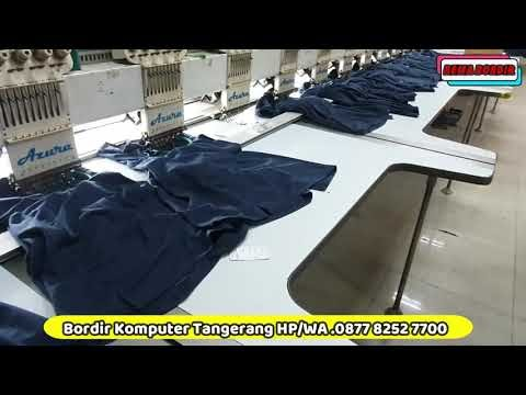 ( 0877 7432 4146 Ayu ) - INFORMASI HARGA JASA BORDIR - Bordir Komputer Tangerang