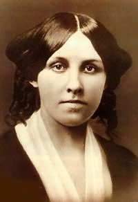 Headshot of Louisa May Alcott (November 29, 18...