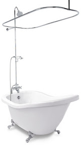 How To Add A Shower To An Existing Clawfoot Bathtub How To Build A