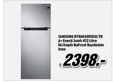 SAMSUNG RT46K6000S8/TR A+ Enerji Sınıfı 472 Litre İki Kapılı NoFrost Buzdolabı Inox 2398TL
