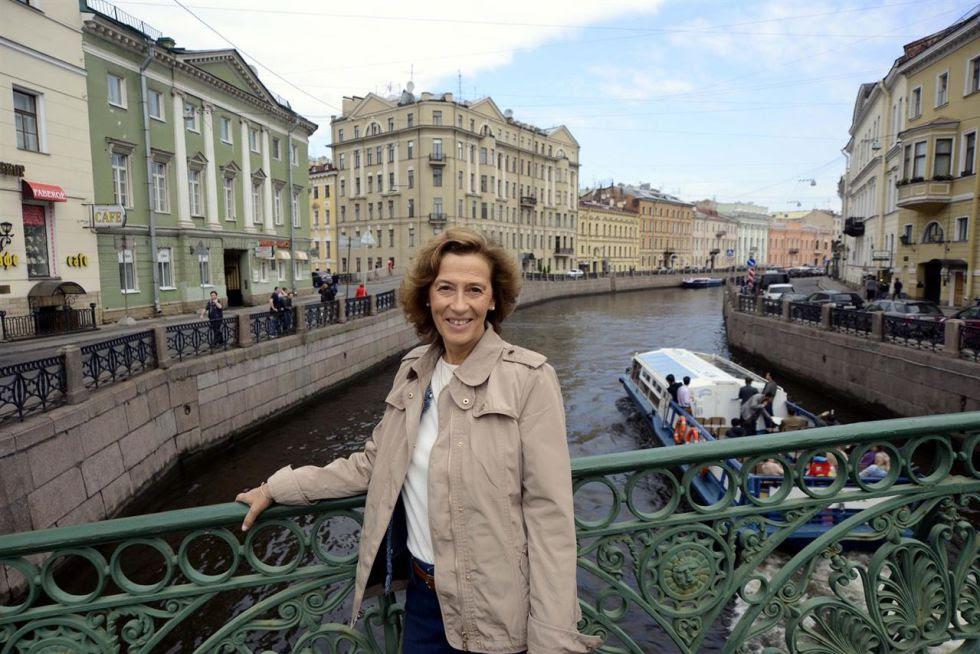 La escritora Julia Navarro.