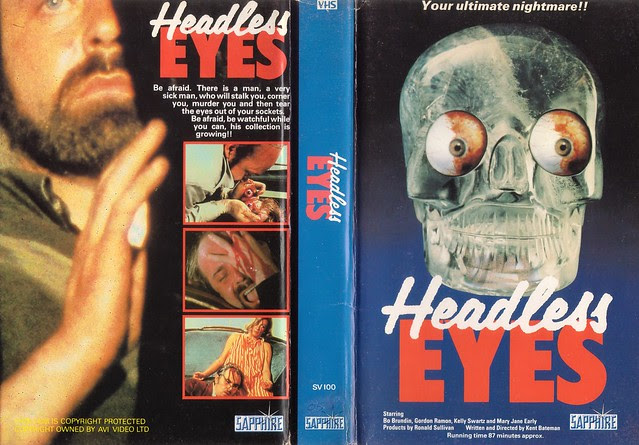 HEADLESSS EYES (VHS Box Art)