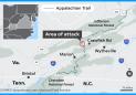 A machete attack on the Appalachian Trail left one hiker dead