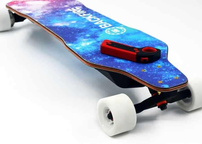 BACKFIRE Affordable Electric Skateboard Hits Kickstarter  Geeky Gadgets