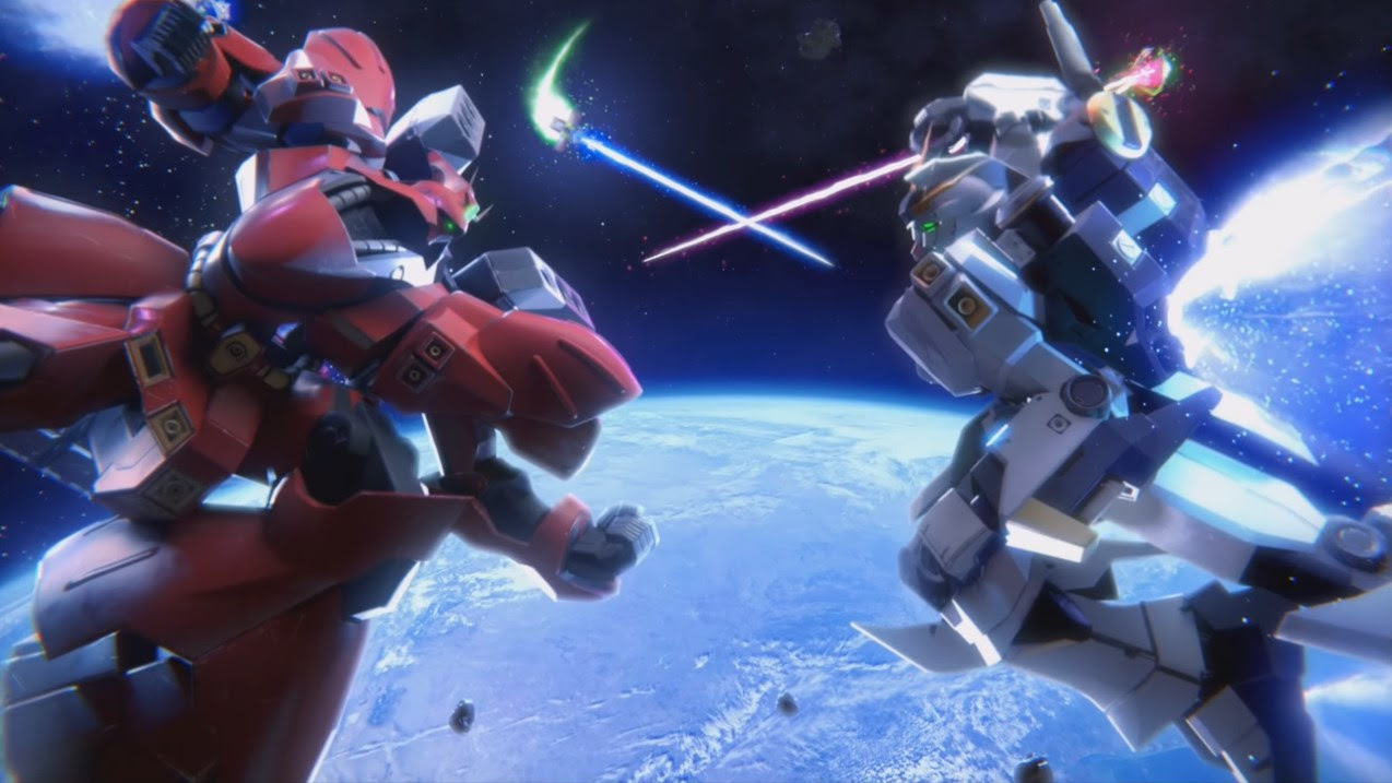 Gundam Versus beta launching September 2 in North America and Europe, 94 mobile suits playable screenshot