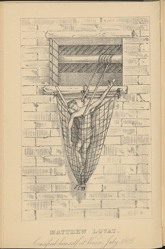 Matthew Lovat - Crucified Himself at Venice, July 1805