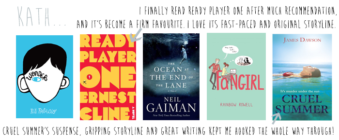 favourite 2013 reads Kath