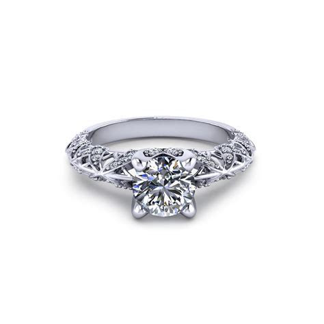Artistic Diamond Engagement Ring   Jewelry Designs