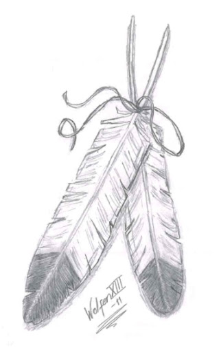 Eagle Feathers Tattoo Tattoo Design Sketches Tattoomagz