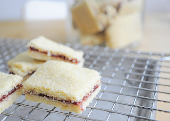 Current Obsession: Jam Shortbread