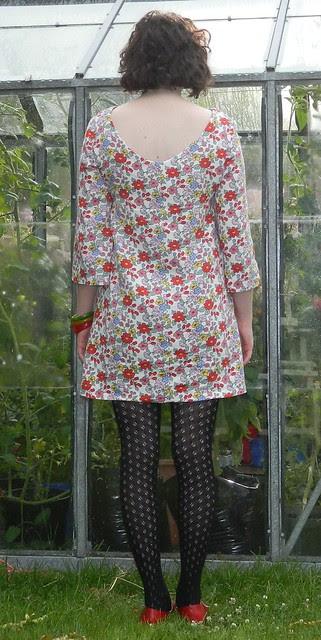 Burda #104 Dress Back