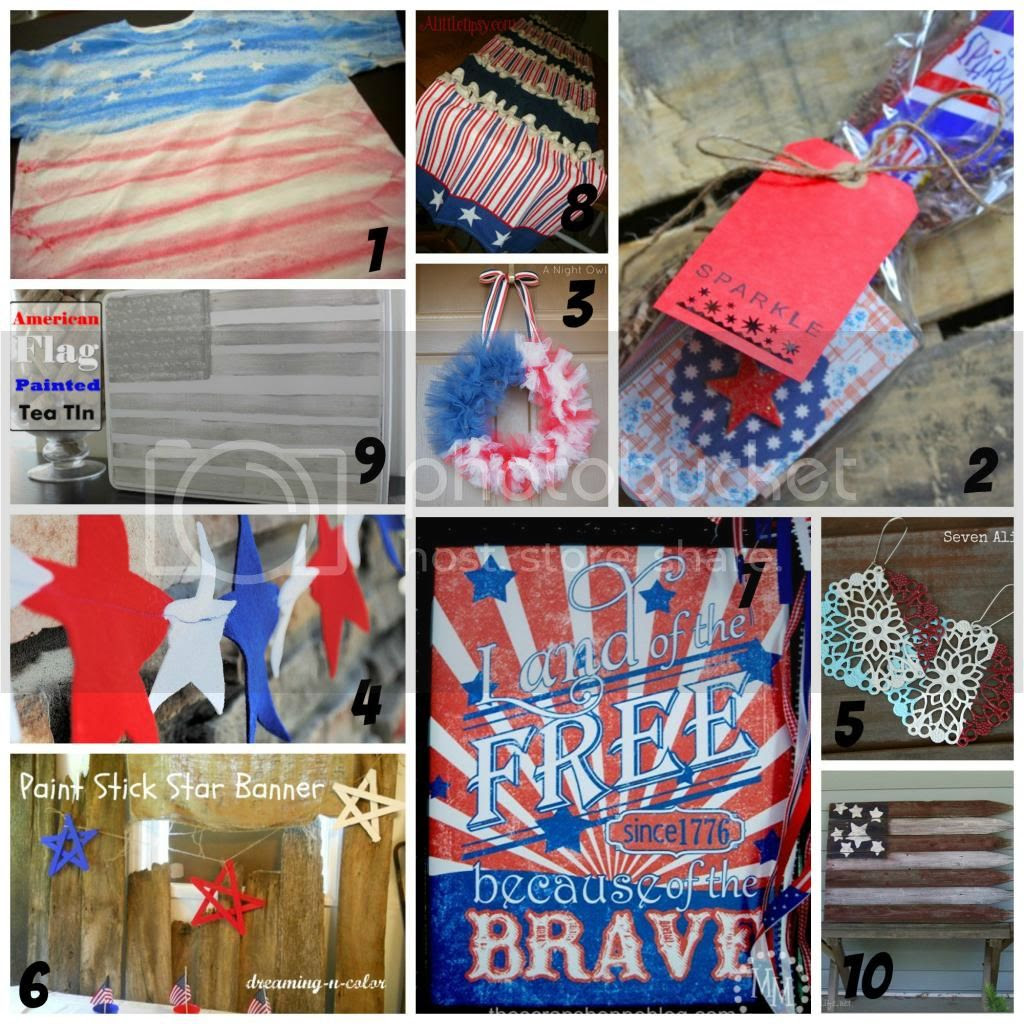 www.myveryeducatedmother.com #MemorialDaycrafts #redwhiteandblue #crafts #recipes #4thofJuly