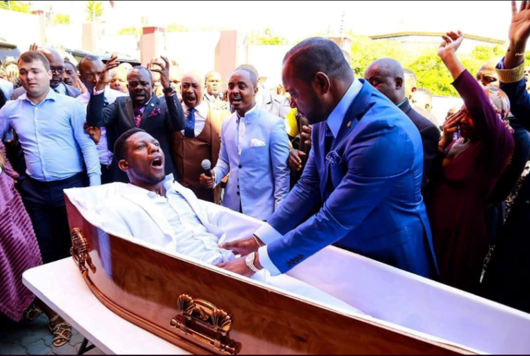 pastor who resurrected dead man