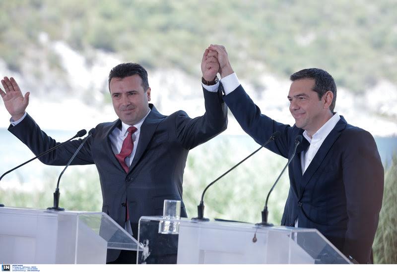 Ζάεφ: «Η συμφωνία, μπορεί και να στοιχίσει στην πολιτική καριέρα τη δική μου και του Αλέξη Τσίπρα αλλά είναι για καλό των δύο λαών»