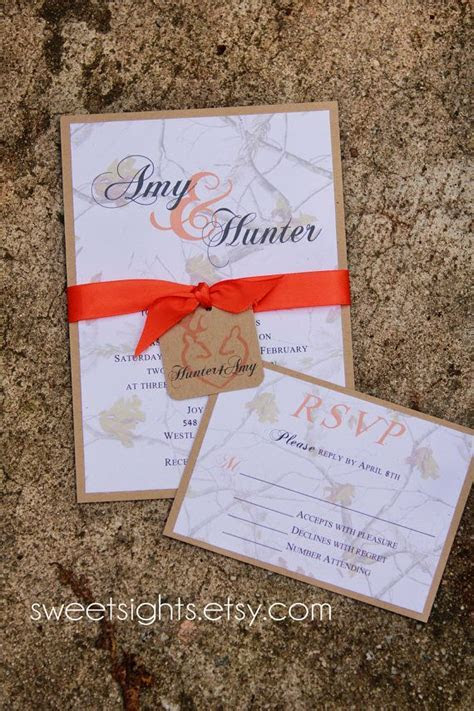 Best 25  Camo wedding invitations ideas on Pinterest