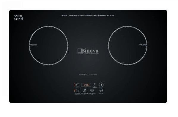 Sở hữu bếp từ Binova BI 217Induction nhiều tiện ích - Tại sao không?