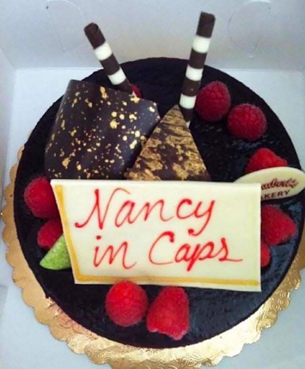 Nancy In Caps. I Mean In Caps