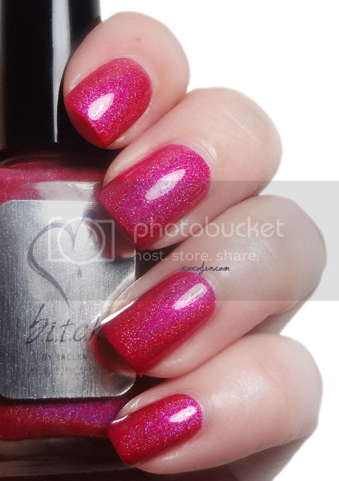 xoxoJen's swatch of b.i.t.c.h. by Jaclyn Princess Panooch