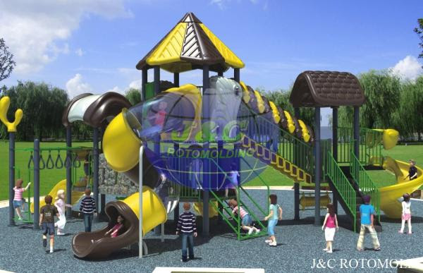 Outdoor Playground Equipment Aluminum Rotational Molds Rotational