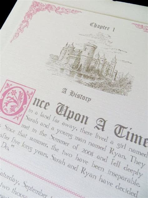 25  Best Ideas about Fairytale Wedding Invitations on