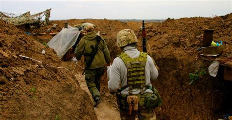 Modern Day Trench Warfare Continues in Ukraine