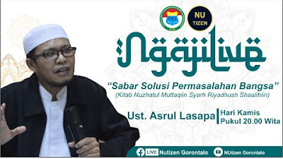 Ngaji Live Bersama Ust Asrul Lasapa