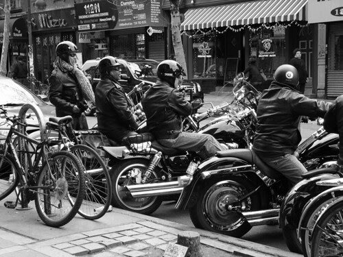 Harleys in Brooklyn