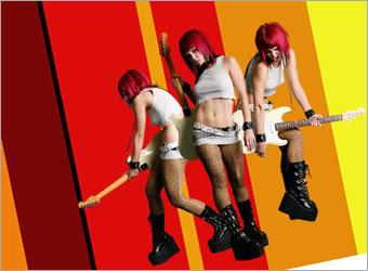 Creating a Grunge Rock Poster image 7