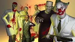 Sample horror characters scene