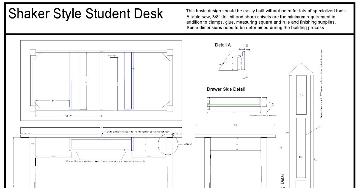 Shaker dresser plans backyard arbor for Shaker bed plans