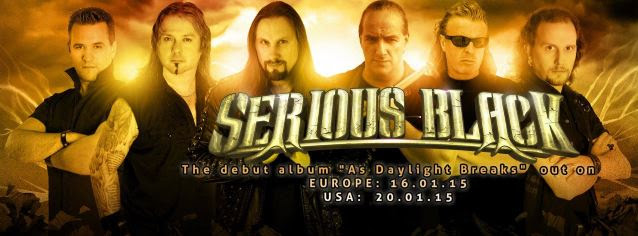 SERIOUS BLACK Featuring Former HELLOWEEN, BLIND GUARDIAN Members: 'Sealing My Fate' Song Streaming