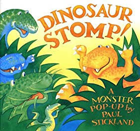 "Cover of ""Dinosaur Stomp!"""