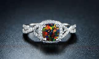 Best 25  Black opal ring ideas on Pinterest   Australian
