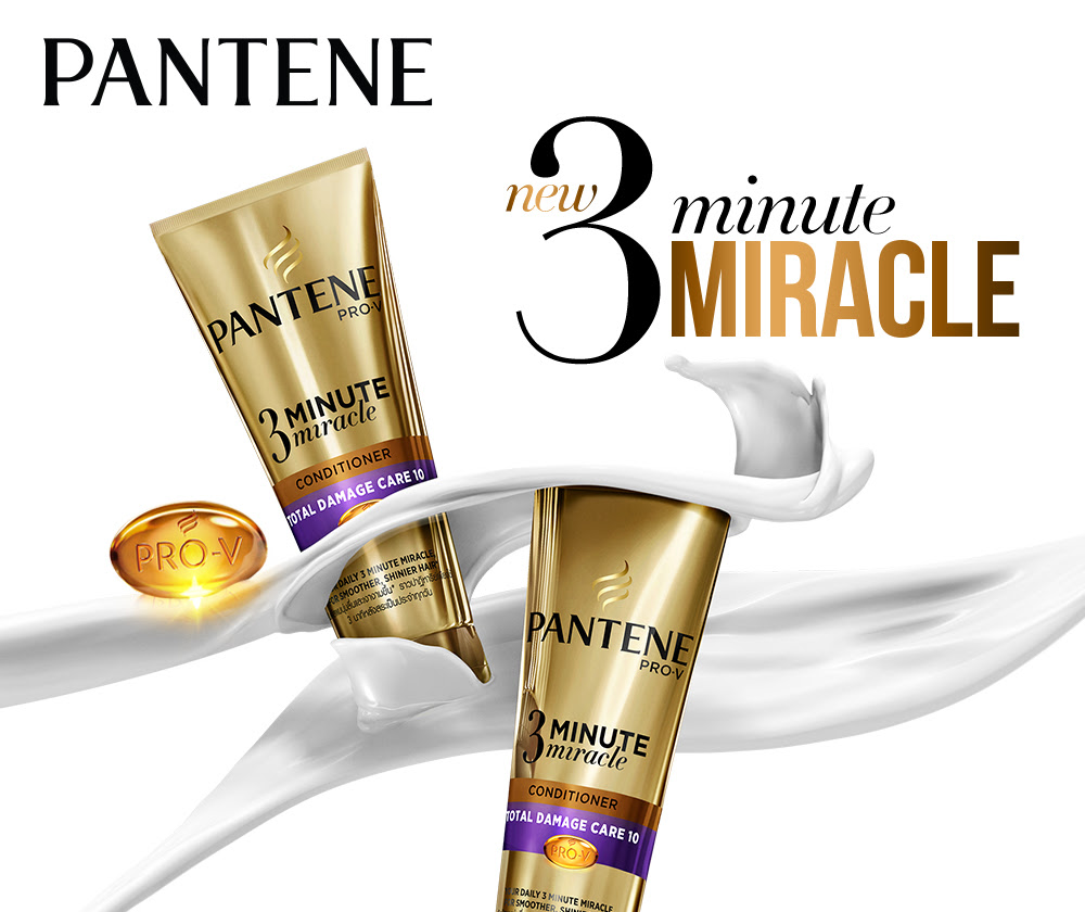 Pantene 3Minute Miracle Conditioner \u00ab Sample Room \u2013 Official Blog