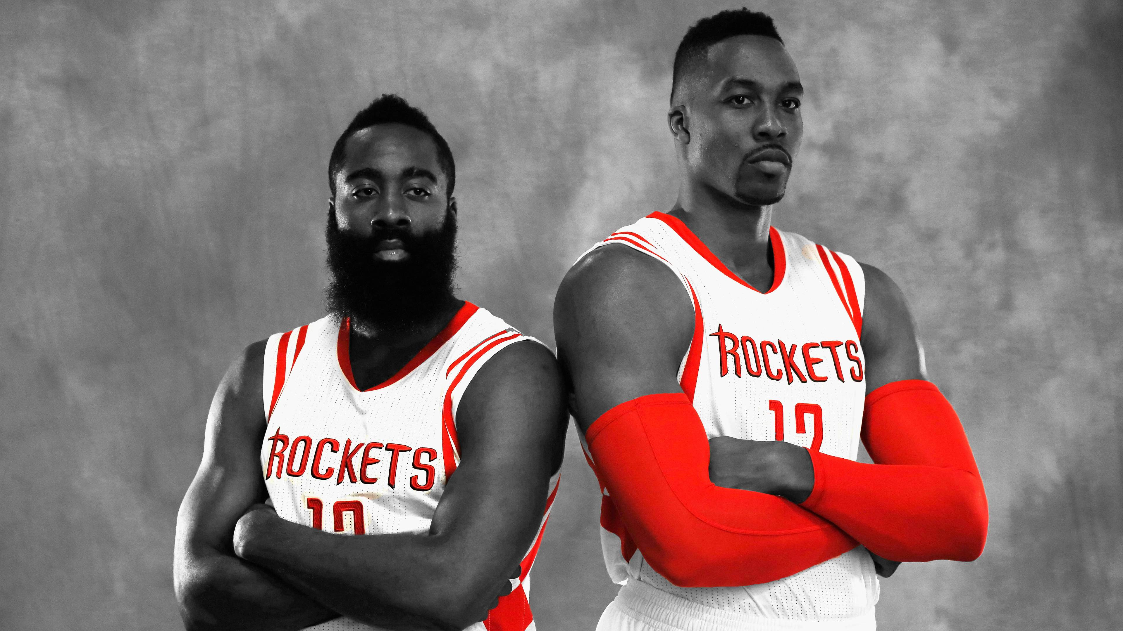 I Edited A Picture Of Harden Howard To Make A Wallpaper Rockets