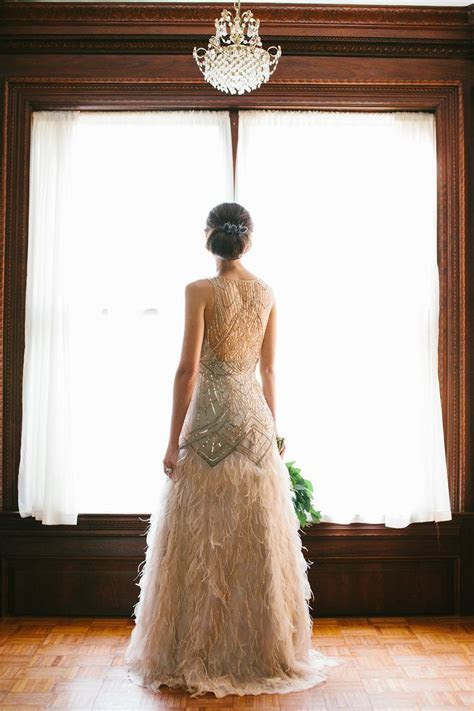 10 Wedding Gowns Full of Fun & Feathers