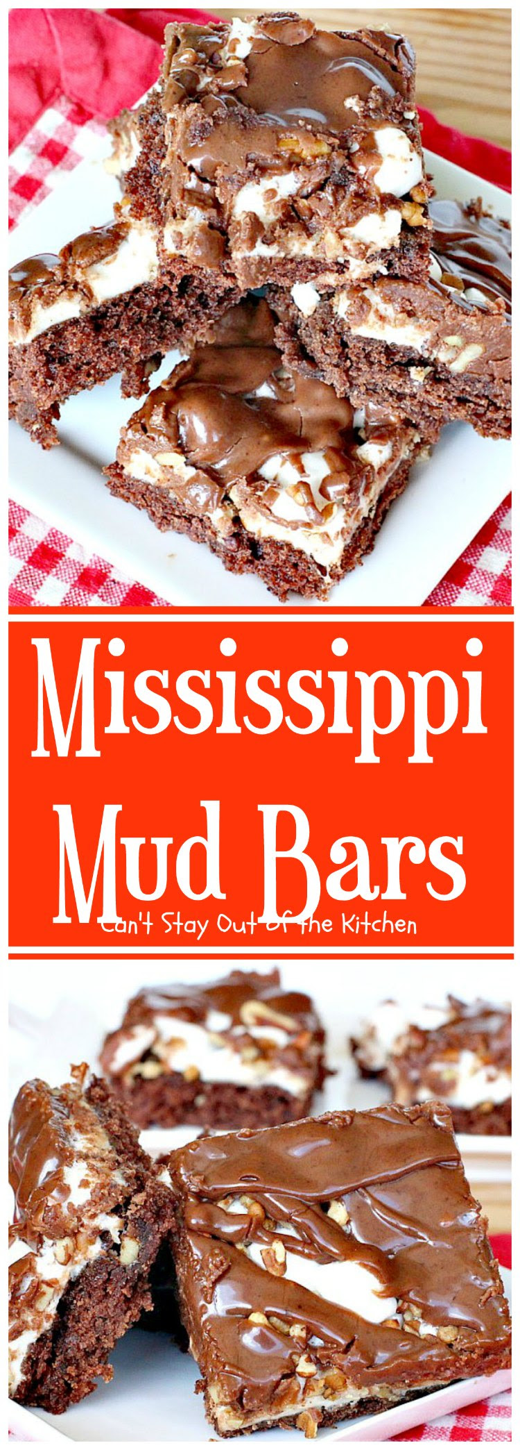 Mississippi Mud Bars Cant Stay Out of the Kitchen