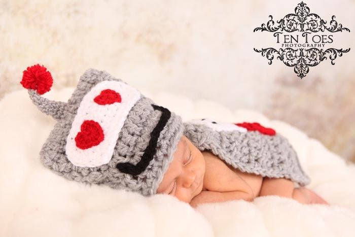 Crochet Pattern- Love Machine- Cuddle Cape Set  -Photography Prop