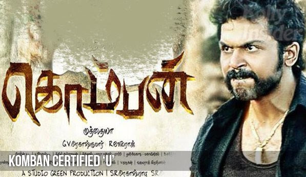 Komban clears censor with U
