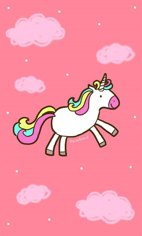 lihat gambar wallpaper pink lucu simplepict unicorn