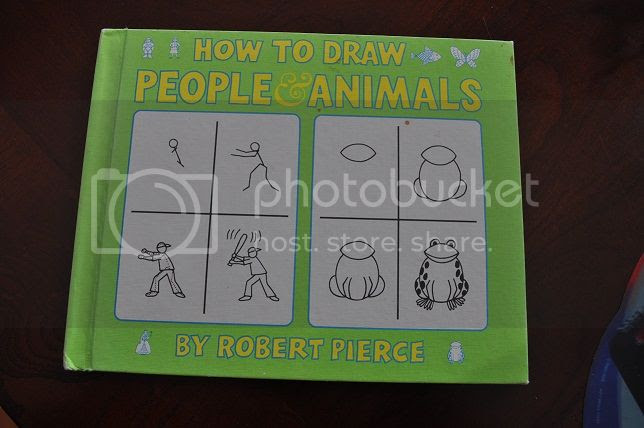 How to draw people and animals by Robert Pierce
