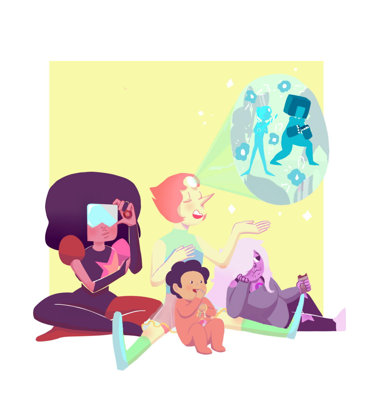 Thank you all for 300 followers! I don't know what that many people are doing here all at once, but we're in this my dudes, we're in this together for the long haul. And since you liked baby steven...