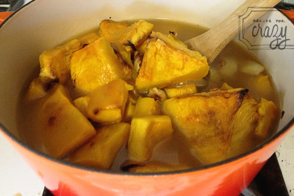 pumpkin soup in the works