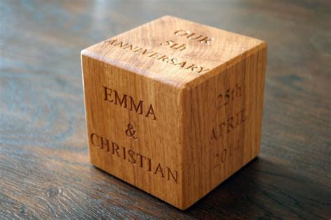 5th wedding anniversary gifts ireland