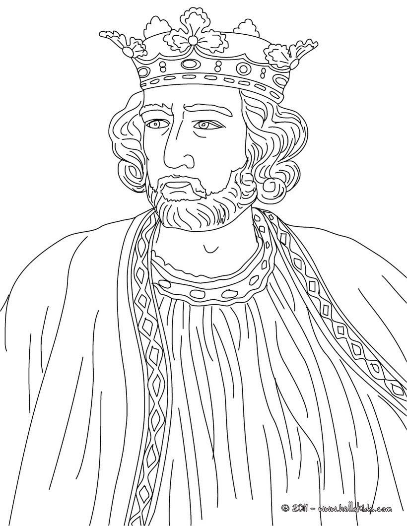 king edward i colouring page muapb