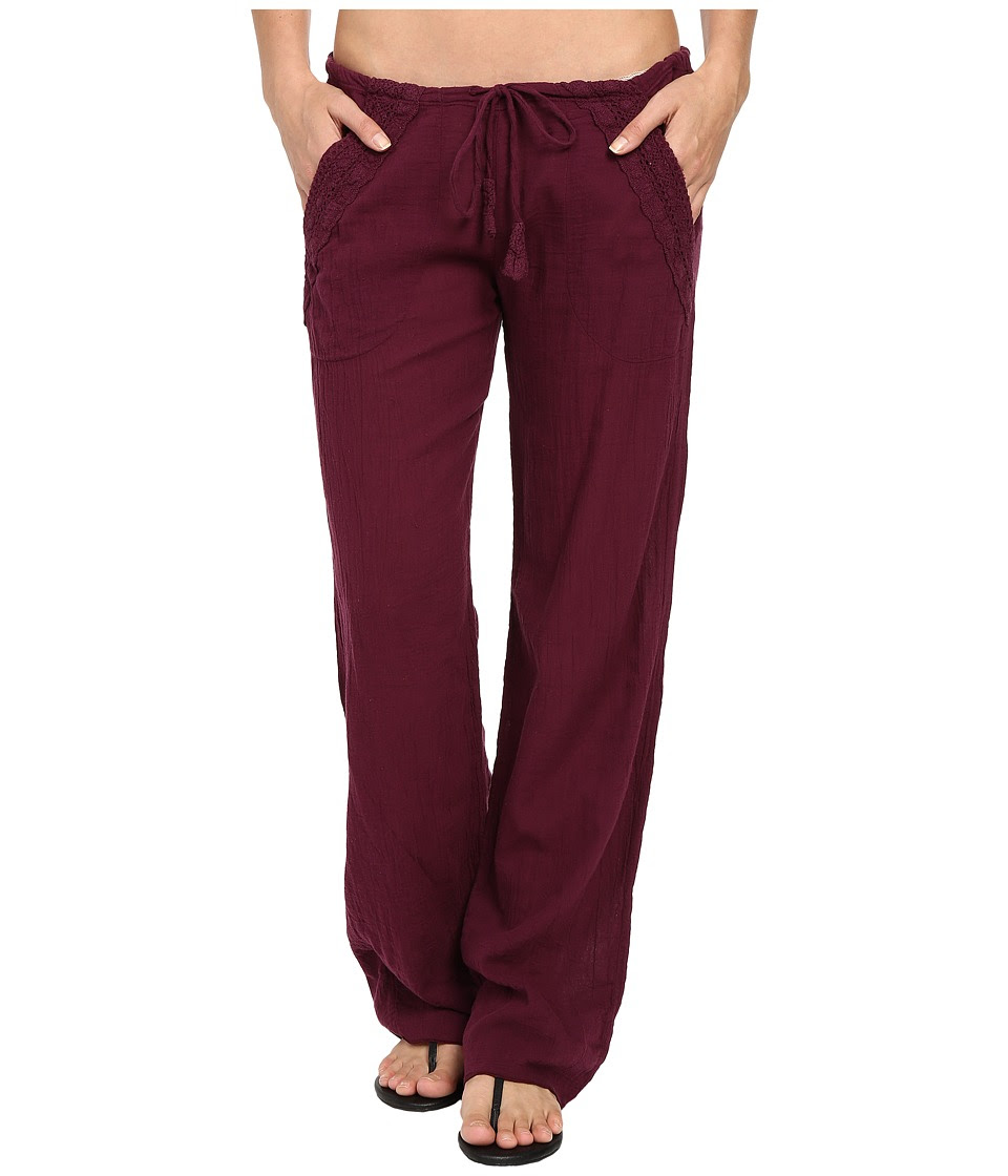 BECCA by Rebecca Virtue - Tivoli Pants Cover-Up (Marsala) Women's Swimwear