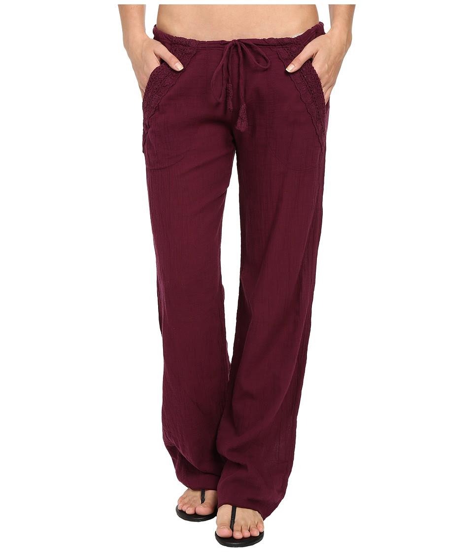 BECCA by Rebecca Virtue - Tivoli Pants Cover-Up (Marsala) Women's Swimwear