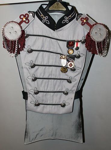Best man's outfit in progress